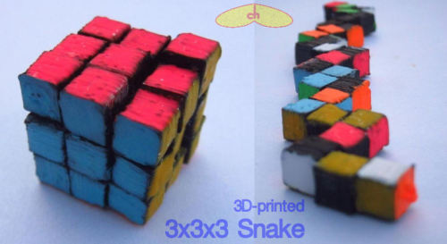 3dprinted3x3x3snake