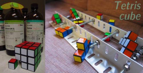 Tetriscube